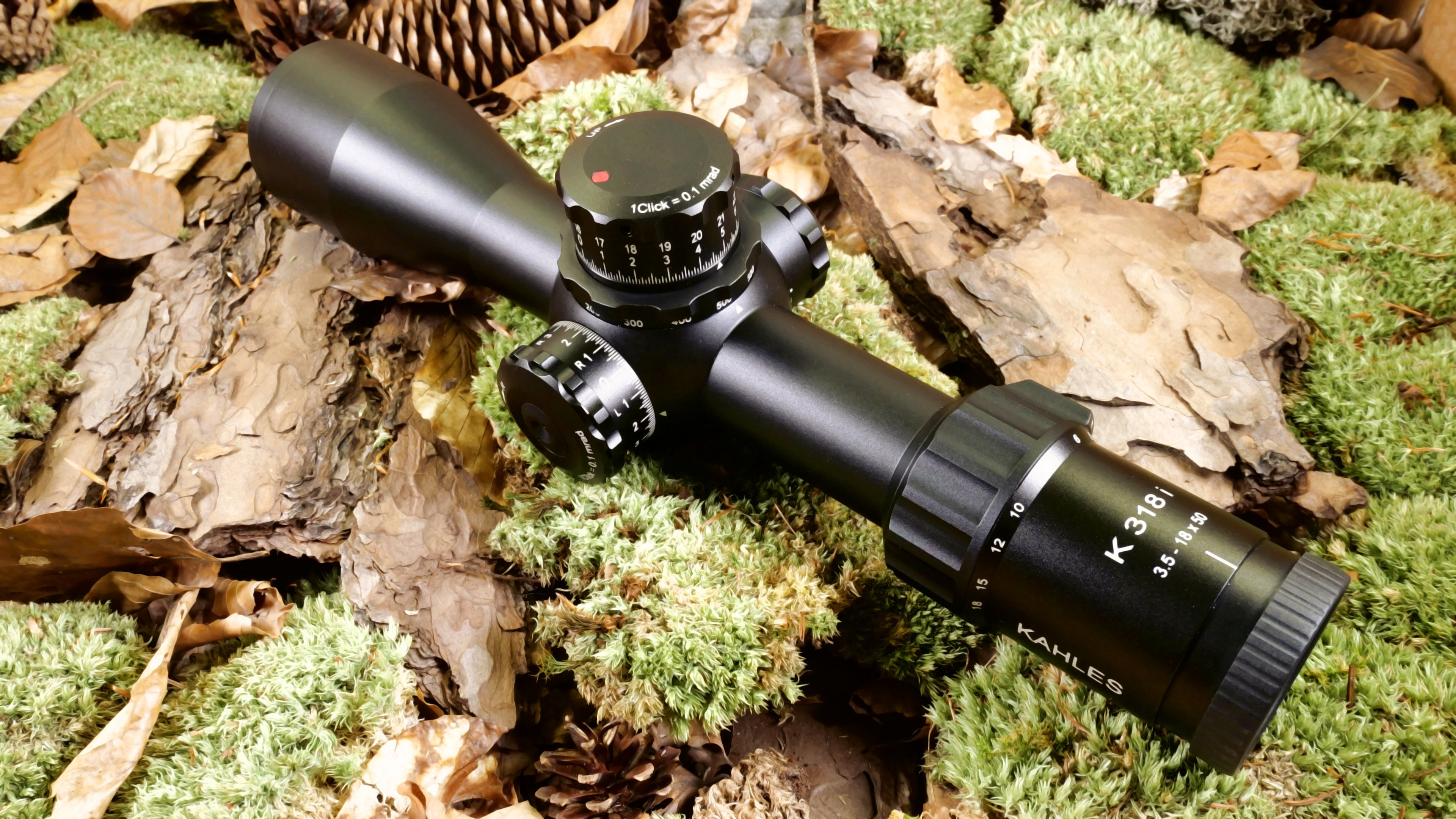 Tactical scope Kahles