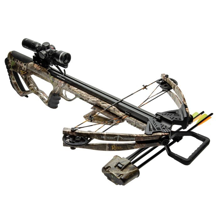 mounting on a crossbow scope