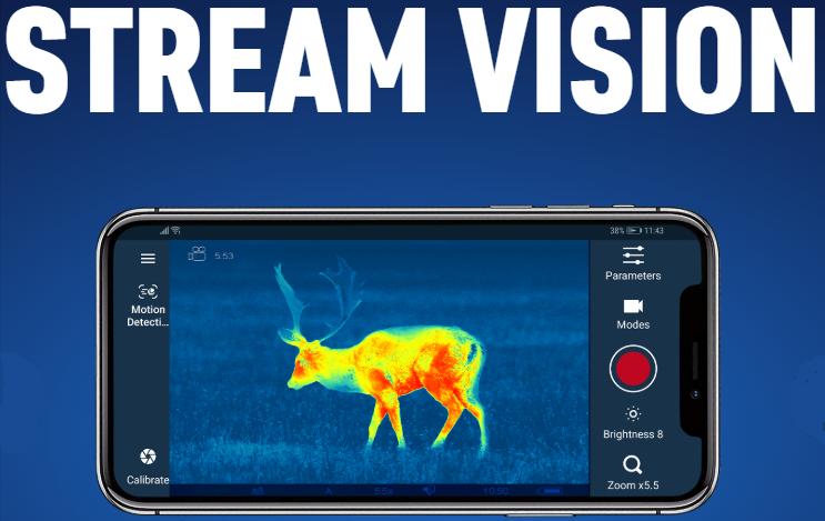 Stream Vision App