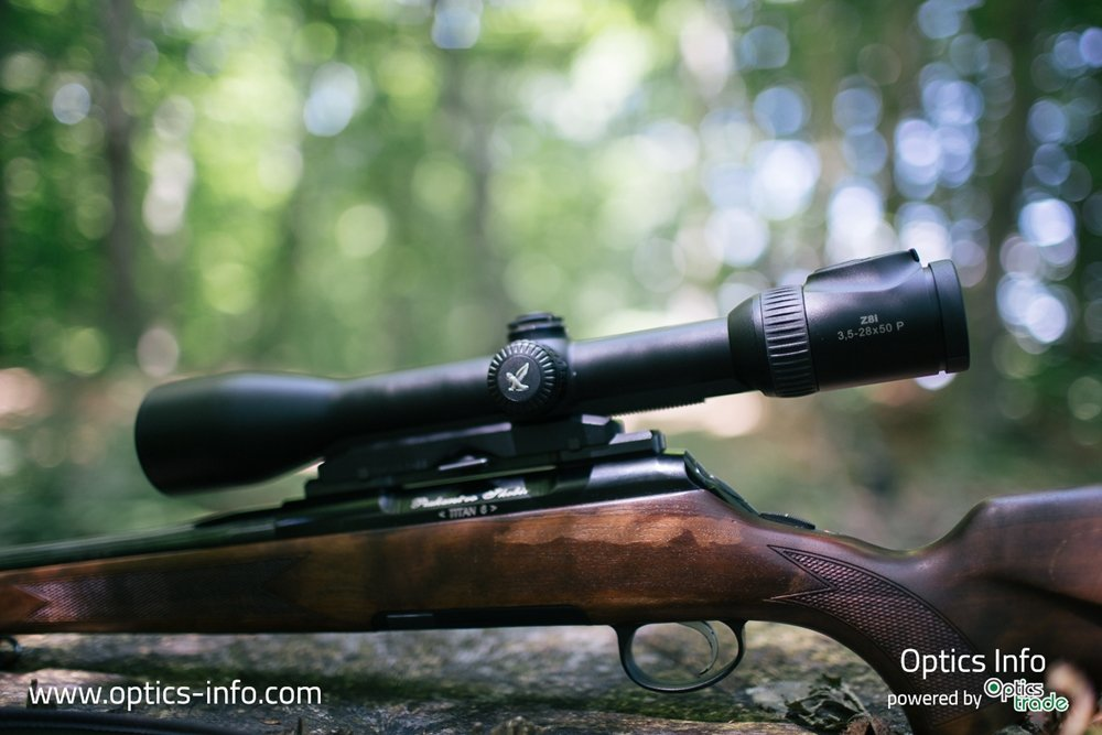 Swarovski Z8i 3.5-28x50 - a great riflescope for long-range hunting
