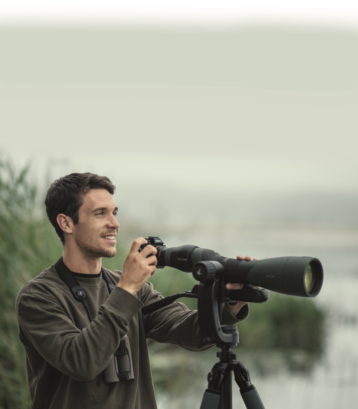 Straight Scopes for Birdwatching