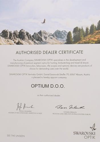 Optics Trade Acknowledgements
