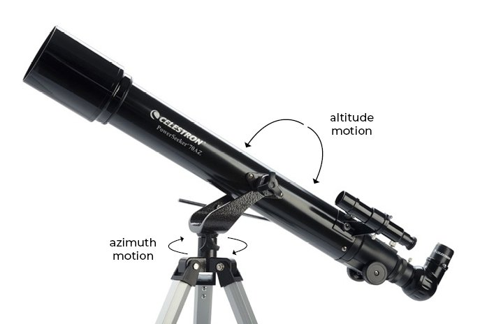 Manual Altazimuth Mount Telescopes